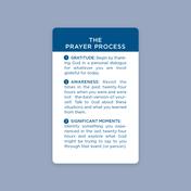 20 Pack Prayer Process Cards