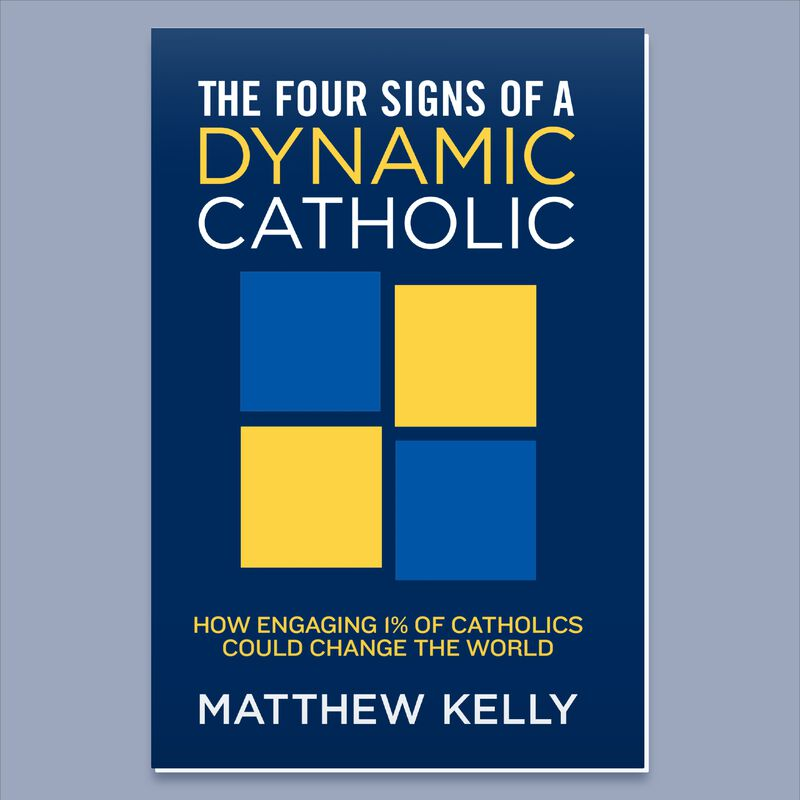 Product image for The Four Signs of a Dynamic Catholic image number 0