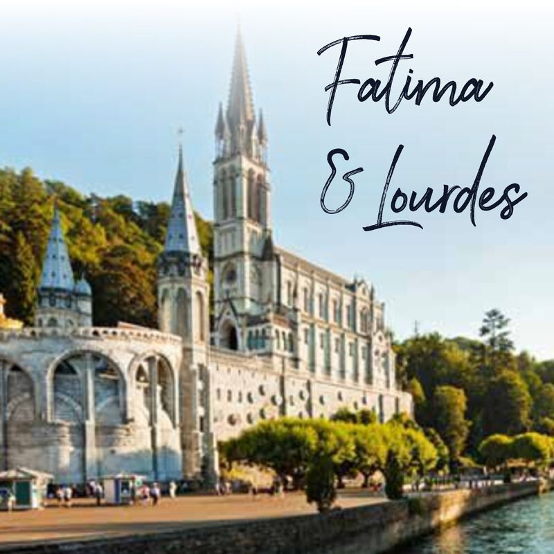 Product image for Fatima, Avila, and Lourdes 2022 image number 0