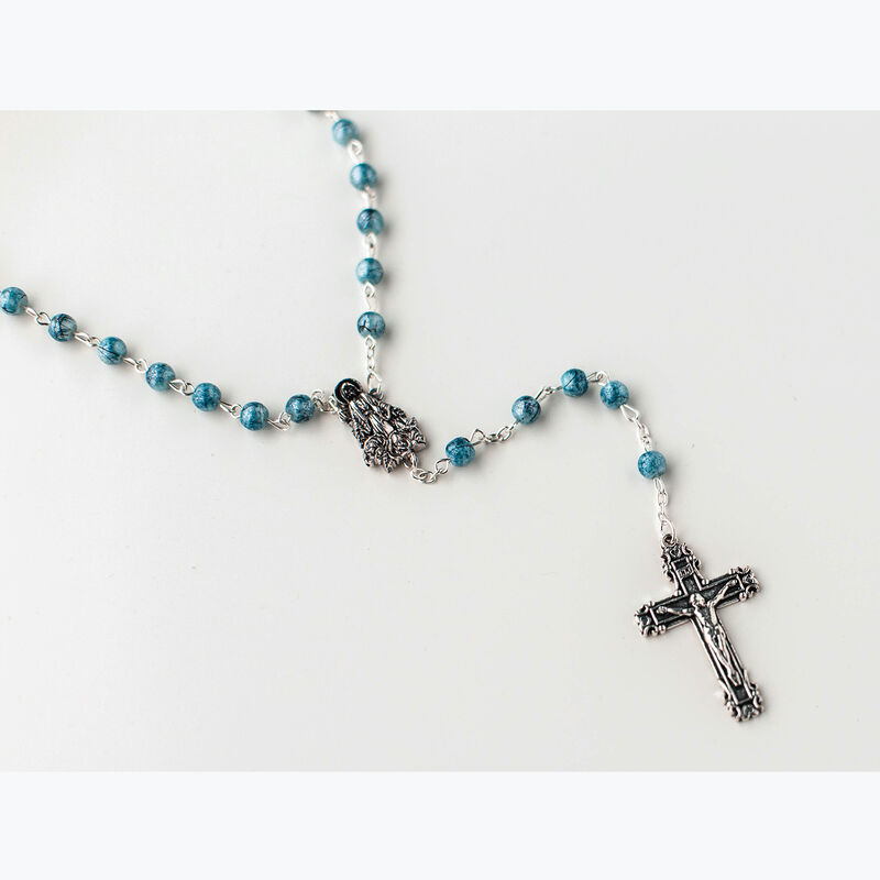 Rosary: Mary with Glass Beads image number 0