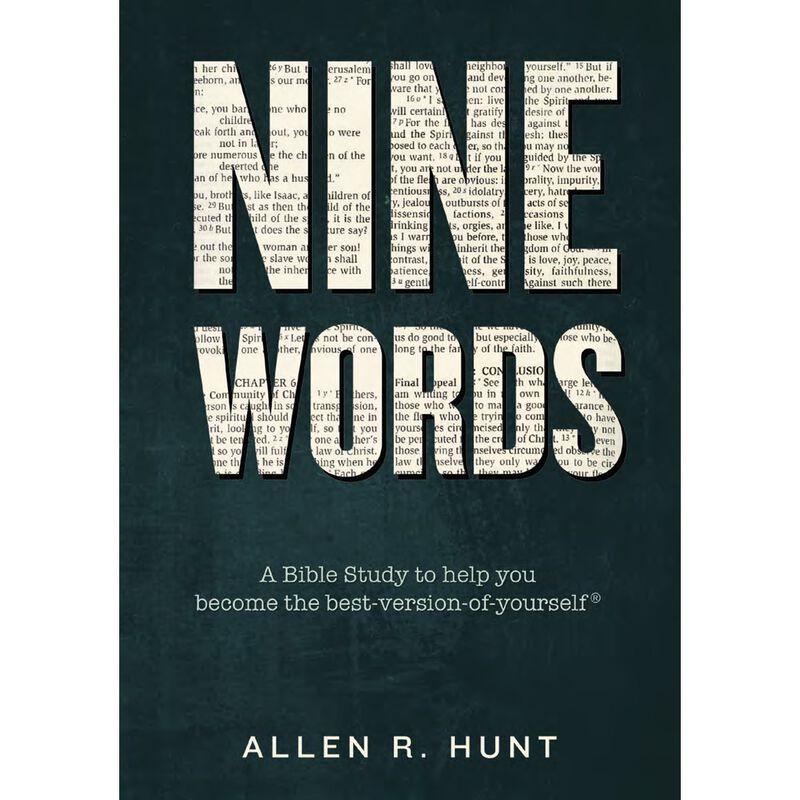 Book cover for Nine Words by Dr. Allen Hunt image number 0