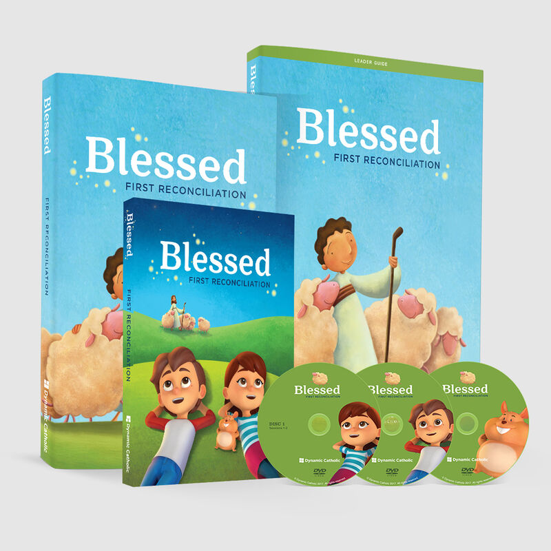 BLESSED First Reconciliation DVD Set image number 0