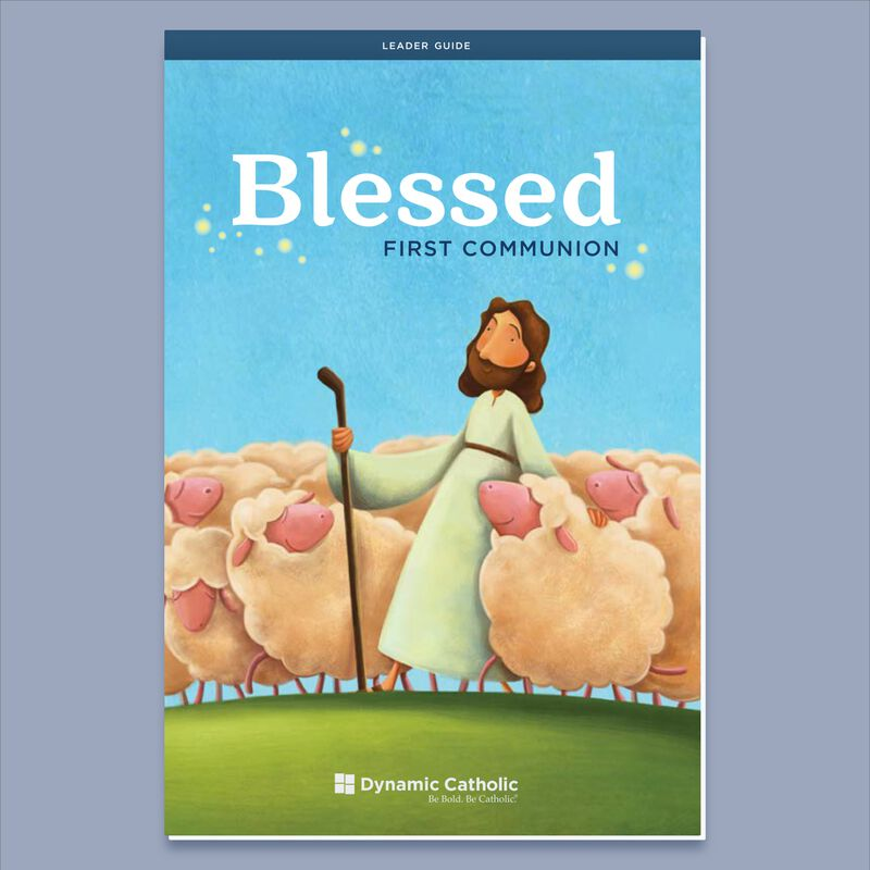 Product image for BLESSED First Communion Leader Guide image number 0