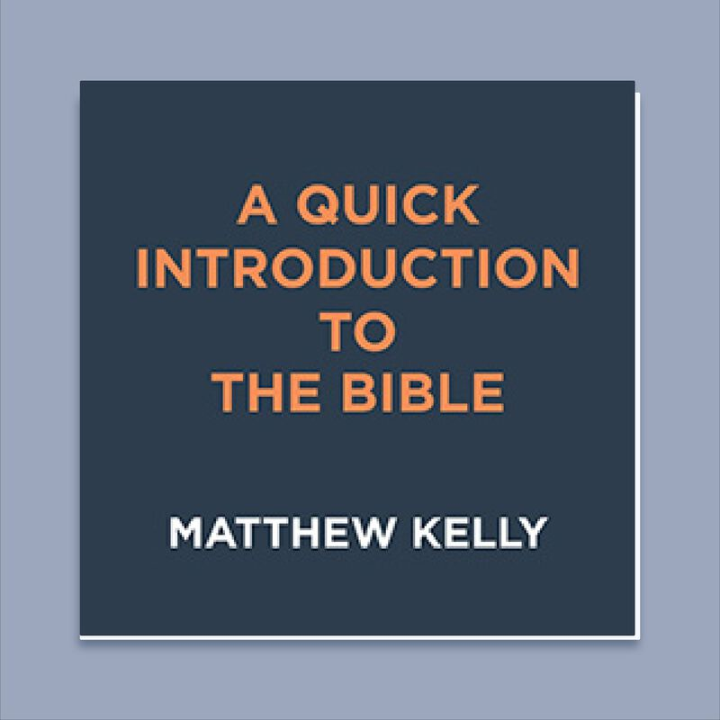 A Quick Introduction To The Bible by Matthew Kelly image number 0