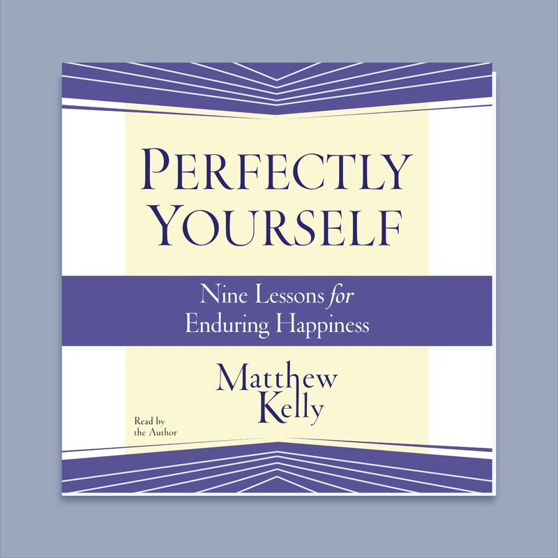 Perfectly Yourself Audiobook by Matthew Kelly image number 0