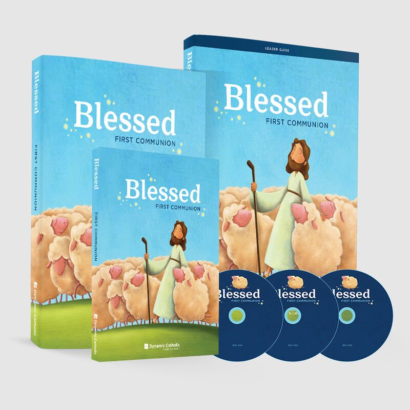 BLESSED First Communion Program Pack image number 0