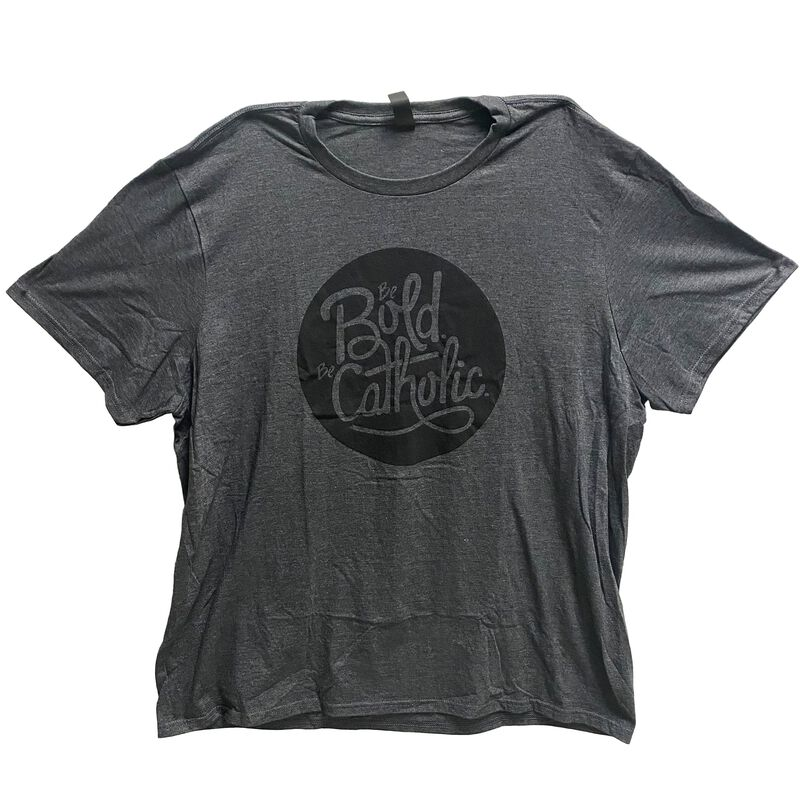 Be Bold Be Catholic T-Shirt image number 0