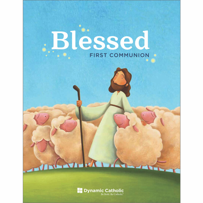 Product image for BLESSED First Communion Workbook image number 0