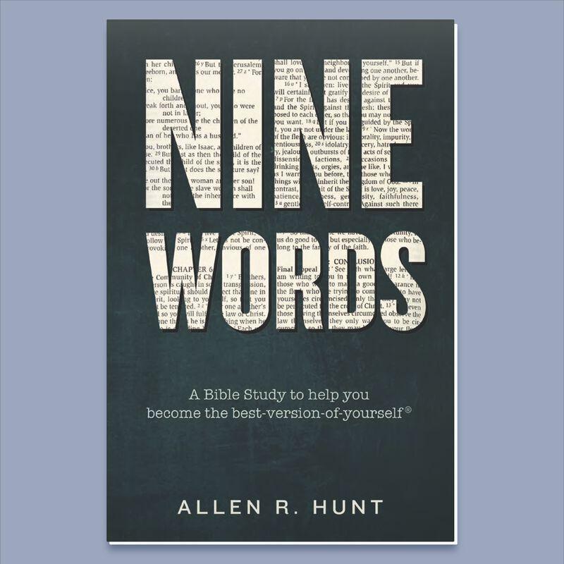 Cover for Nine Words by Allen Hunt image number 0